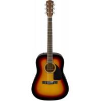 FENDER CD-60 DREAD V3 DS SB WN акустическая гитара, цвет санберст