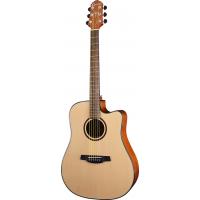 CRAFTER HD-250CE - электроакустическая гитара, верхняя дека ель, корпус...
