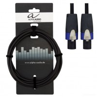 ALPHA AUDIO Peak Line кабель спикерный speakon х2, Neutrik, 15 м