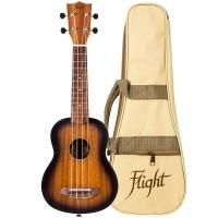 FLIGHT NUS380 AMBER - Укулеле сопрано