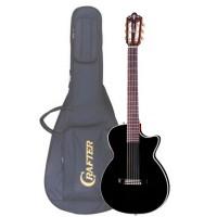 CRAFTER CT-125C BK Чехол - Электроакустическая гитара шестиструнная