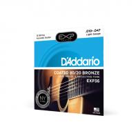 D'ADDARIO EXP36 - Струны для 12-ти струнной акустической гитары