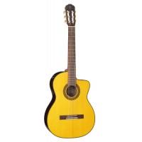 TAKAMINE GC5CE NAT классическая электроакустическая гитара, топ из массива...