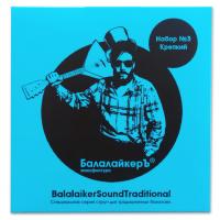 БАЛАЛАЙКЕРЪ STR B3 - Струны для балалайки прима