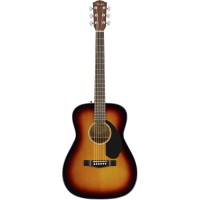 FENDER CC-60S CONCERT SUNBURST WN акустическая гитара, топ - массив ели,...