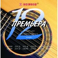 EMUZIN 12П-01 - Струны для 12-ти струнной акустической гитары