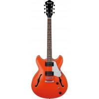 IBANEZ AS63-TLO ARTCORE VIBRANTE полуакустическая гитара, цвет оранжевый.
