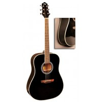 FLIGHT AD-200 BK - Акустическая гитара