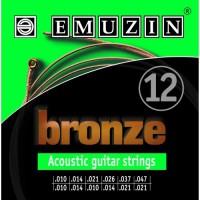EMUZIN 12А183 - Струны для 12-ти струнной акустической гитары