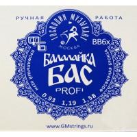 ГОСПОДИН МУЗЫКАНТ BB6x - Струны для балалайки бас